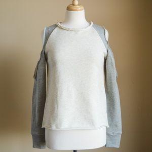 Vici Dolls Never Worn Cut Out Shoulder Sweater